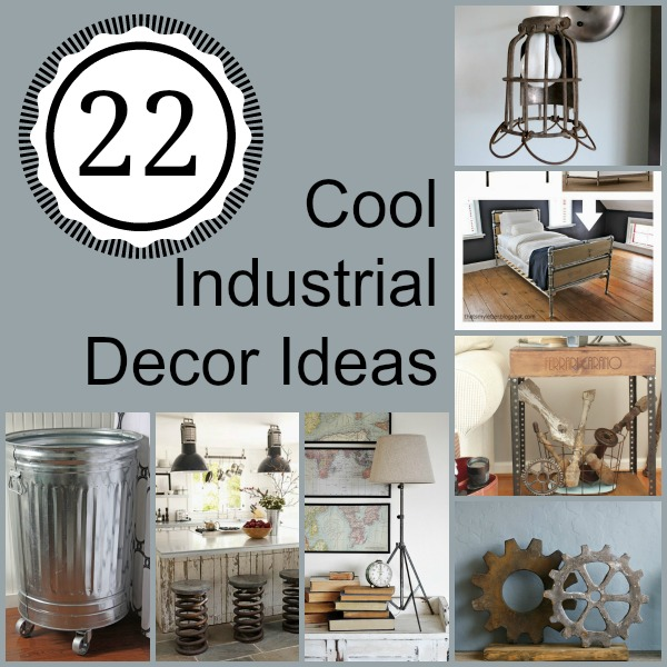 Industrial Decor Collage