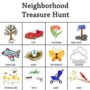 Neighborhood Treasure Hunt