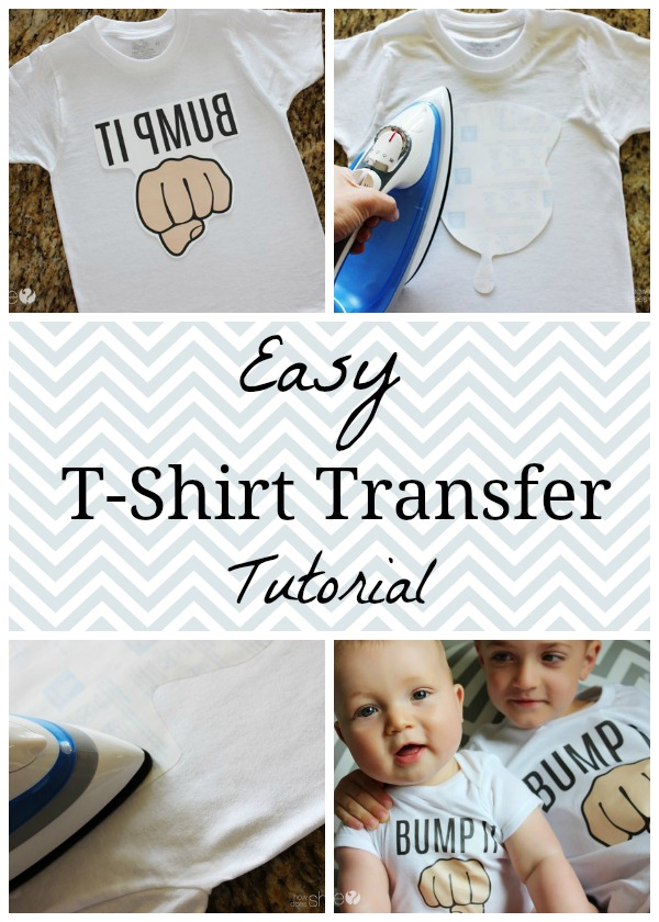 T-shirt Tutorial Collage