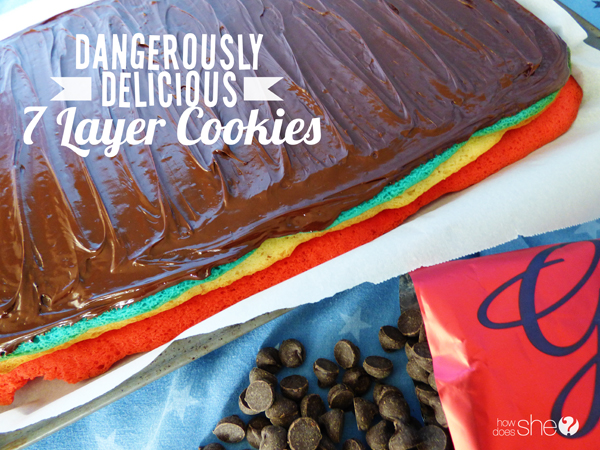 dangerously delicious 7 layer cookies