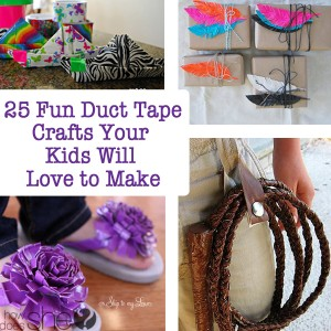 25 Fun Duct Tape Crafts Your Kids Will Love to Make