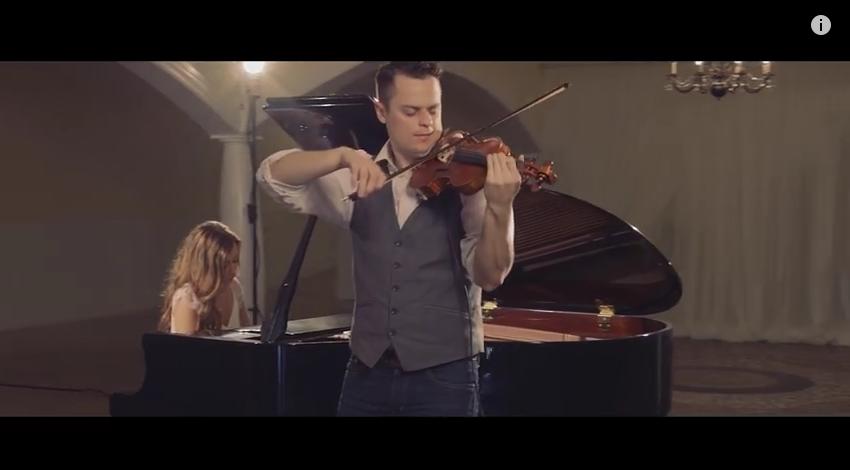 3 parts, 1 violin