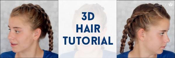3d hair tutorial