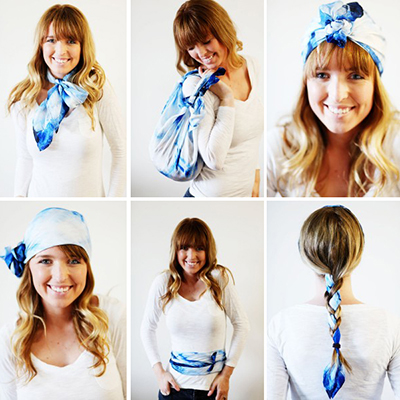 50 ways to wear a scarf {yes ma'am there really are 50!}