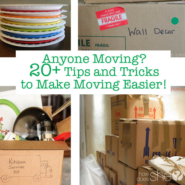 Making Moving Easier: Anyone Moving? 20+ Tips And Tricks To Make Moving Easier