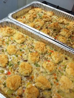 chicken pot pie for a crowd
