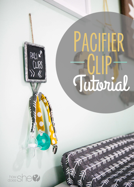 Pacifier Clip Tutorial – Make in 5 Minutes!
