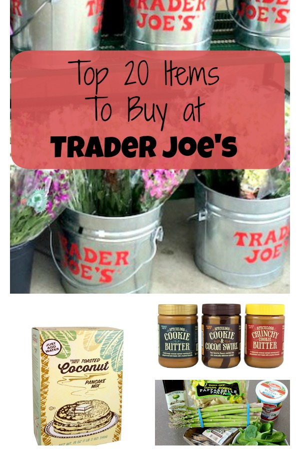 Top 20 Favorite Trader Joe's Items