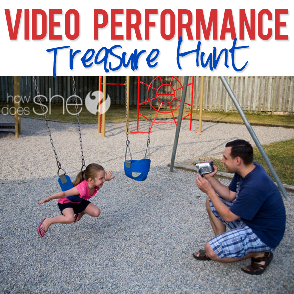 Video Performance Treasure Hunt