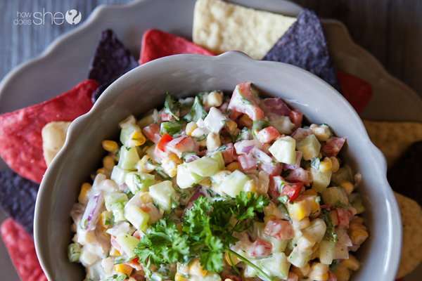 grilled corn and cucumber salsa (8)