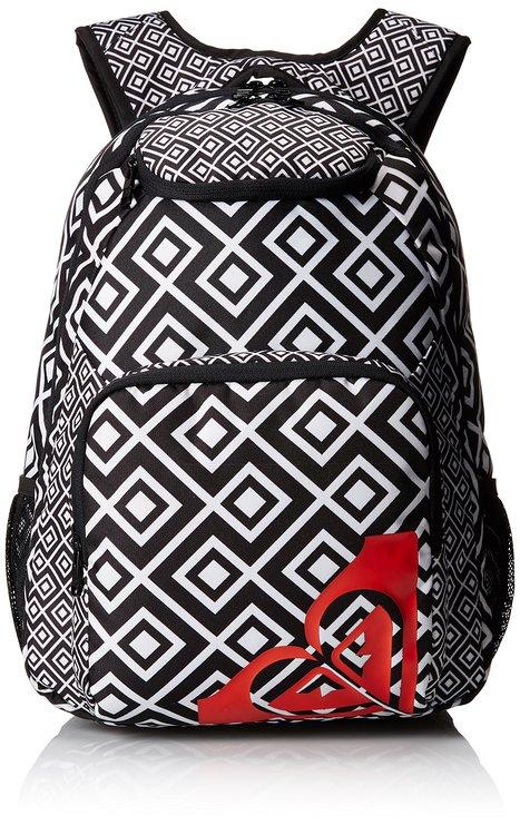Aztec print backpack
