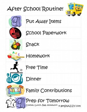 After-School-Routine-for-Kids-get-your-life-organized-boot-camp-FREE-Printable-getSNAZZY-695x900
