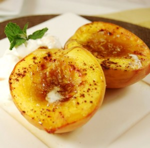 Baked Peaches 1