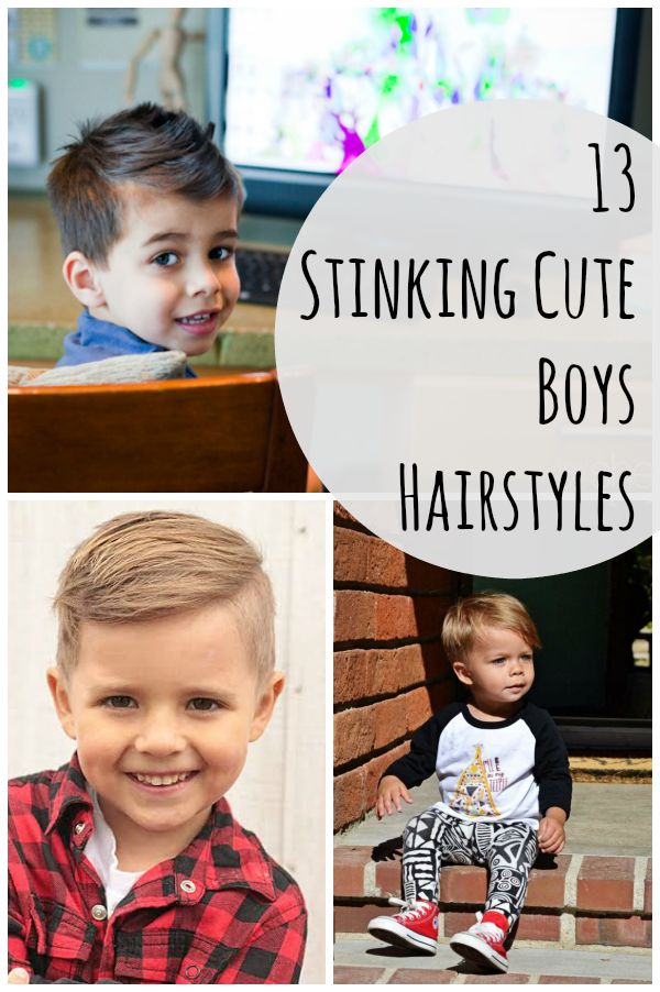 13 Stinking Cute Boys Hairstyles
