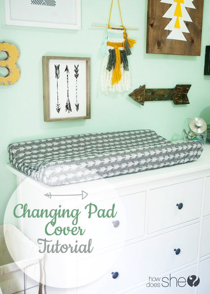 Cover Me Quick! – Changing Pad Cover Tutorial