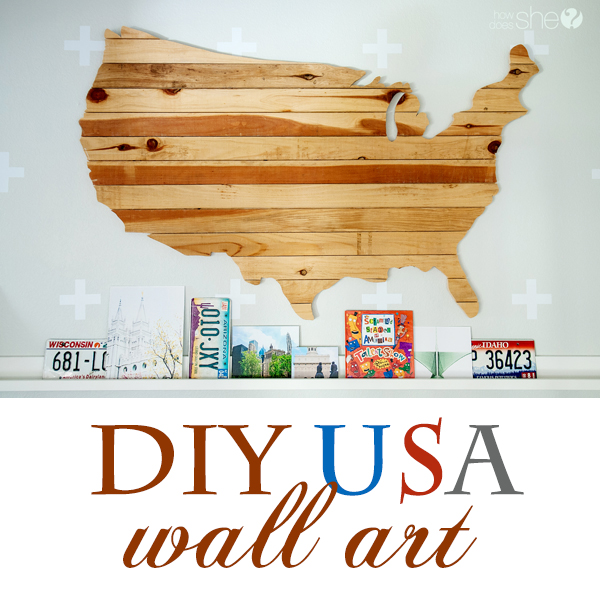 DIY USA Artwork