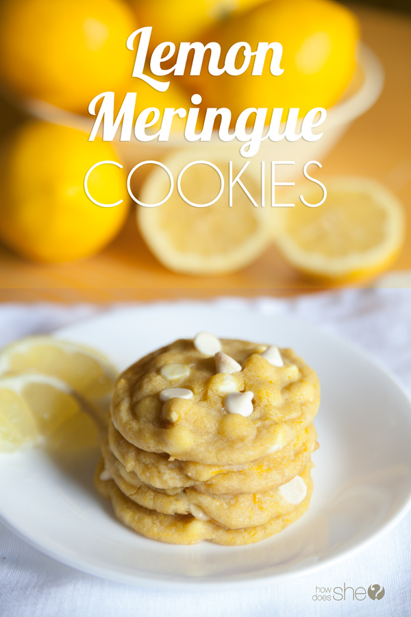 Delightful Lemon Meringue Cookies
