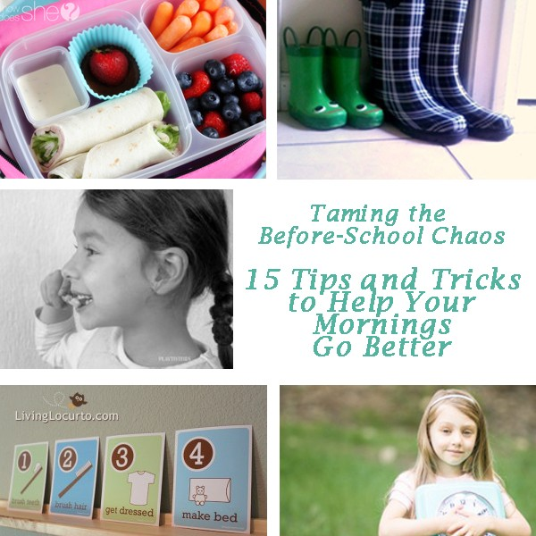 Taming the Before-School Chaos 15 Tips and Tricks to Help Your Mornings Go Better