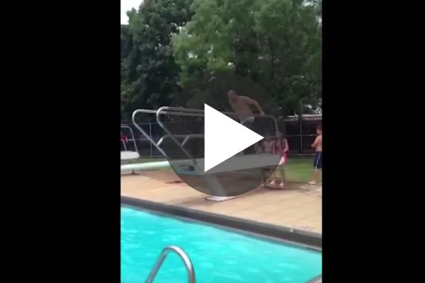 Diving Board Fails How Does She