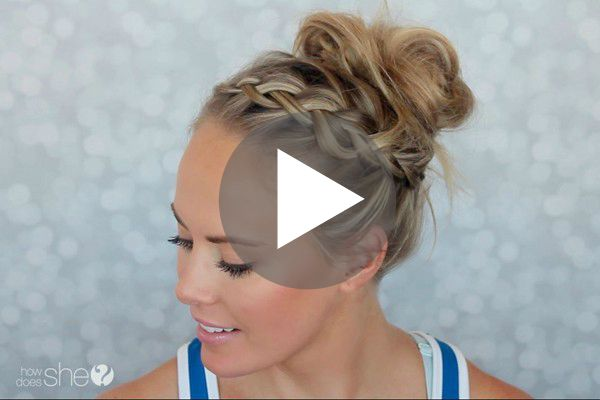 Gym Hairstyle Tutorial