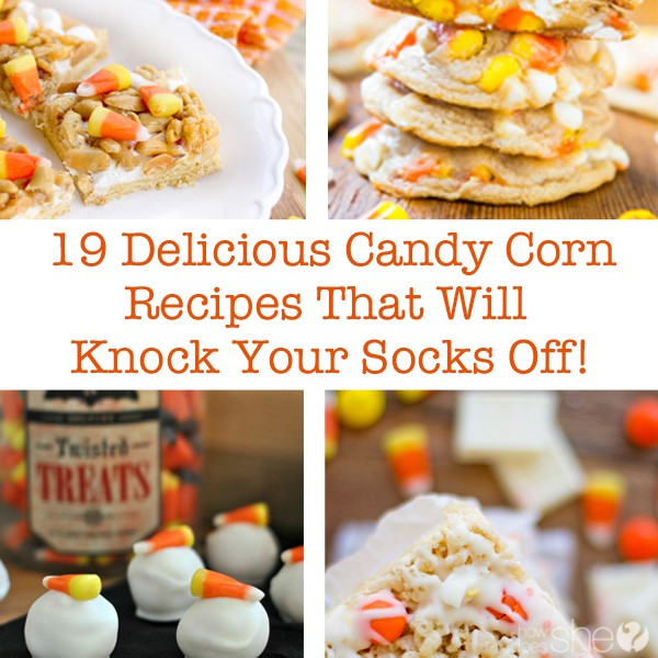19 Delicious Candy Corn Recipes That Will Knock Your Socks Off