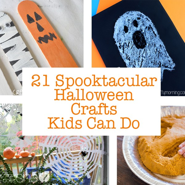 21 Spooktacular Halloween Crafts Kids Can Make