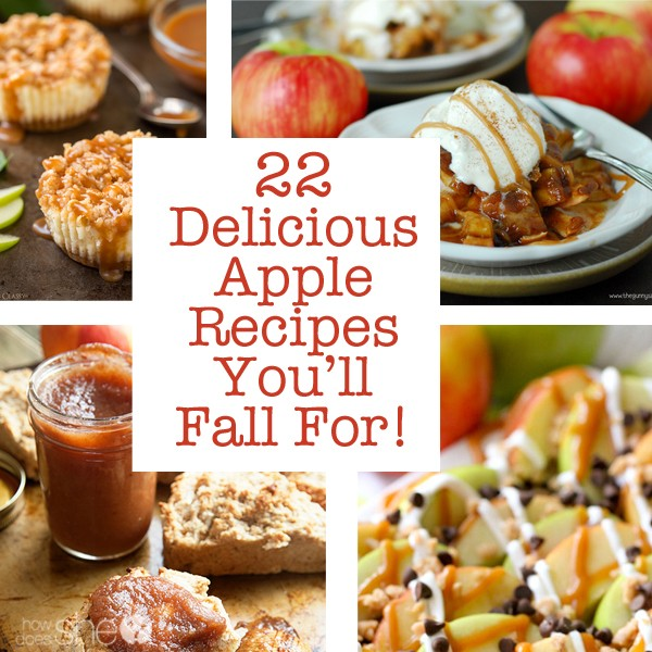 22 Delicious Apple Recipes You'll Fall For