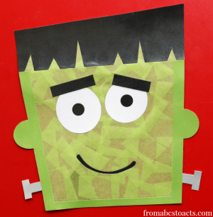 Halloween-Crafts-for-Preschoolers-Frankenstein-Window-Decoration