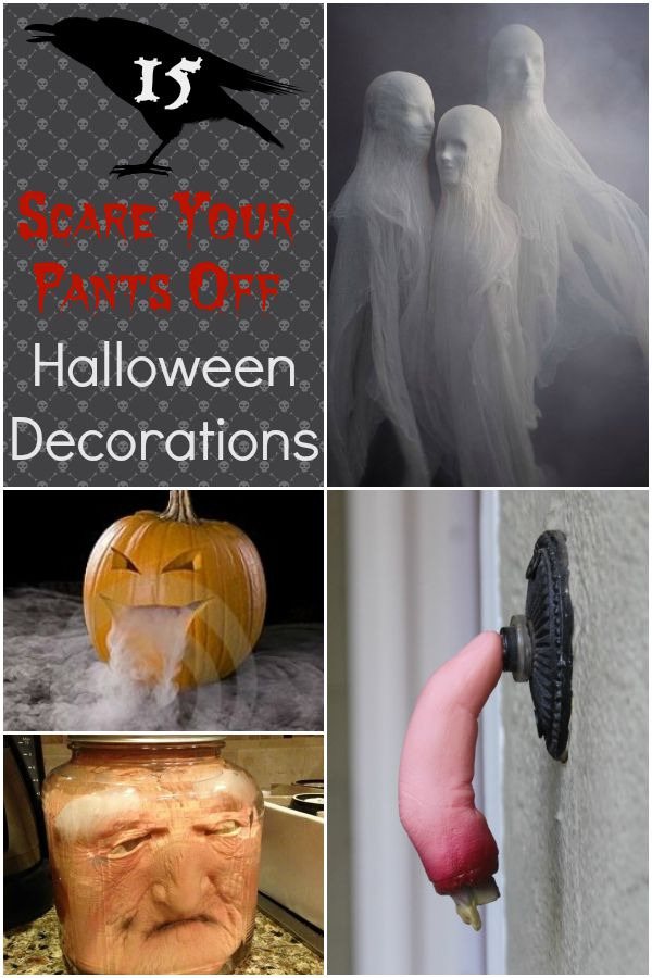 15 Scare Your Pants Off Halloween Decorations Ideas