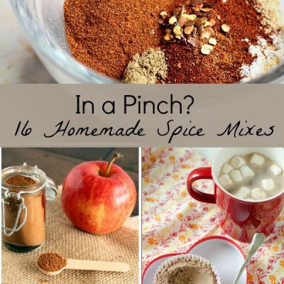 16 Homemade Spice mixes