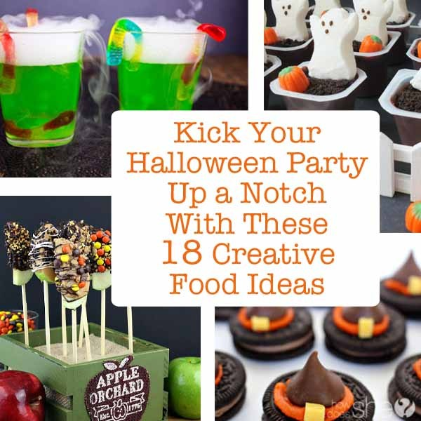 Kick Your Halloween Party Up a Notch with These 18 Creative Food Ideas