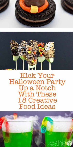 Kick Your Halloween Party up a notch with these 18 Creative Food Ideas 1