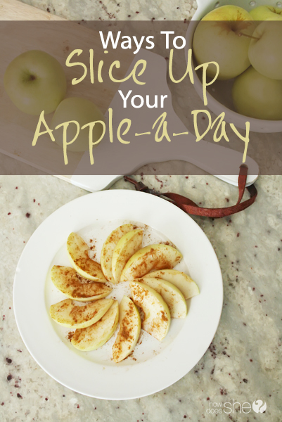 Slice Up Your Apple a Day