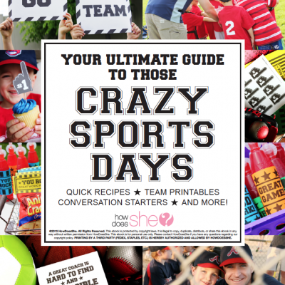 The Crazy Sports Days eBook is HERE!