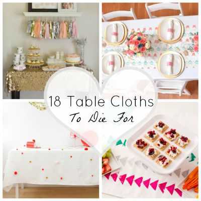 Table cloths featured