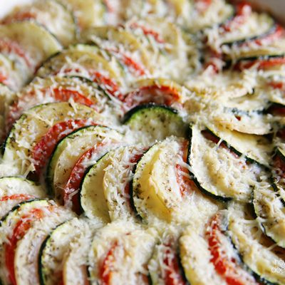 Vegetable Tian – Easy & Oh, So Pretty!