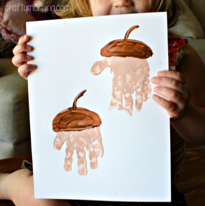 fall acorn craft for kids