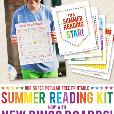 Summer Reading Star Kit – Now with NEW BINGO CARDS!