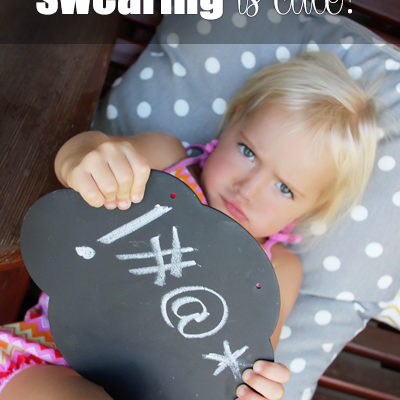So You Think Swearing is Cute?