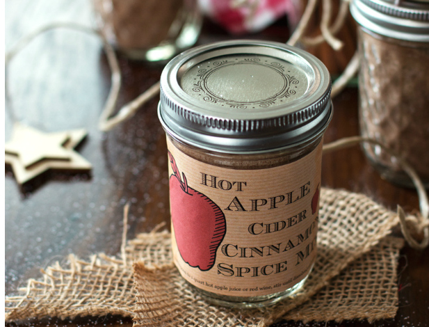 homemade apple cider spice mix