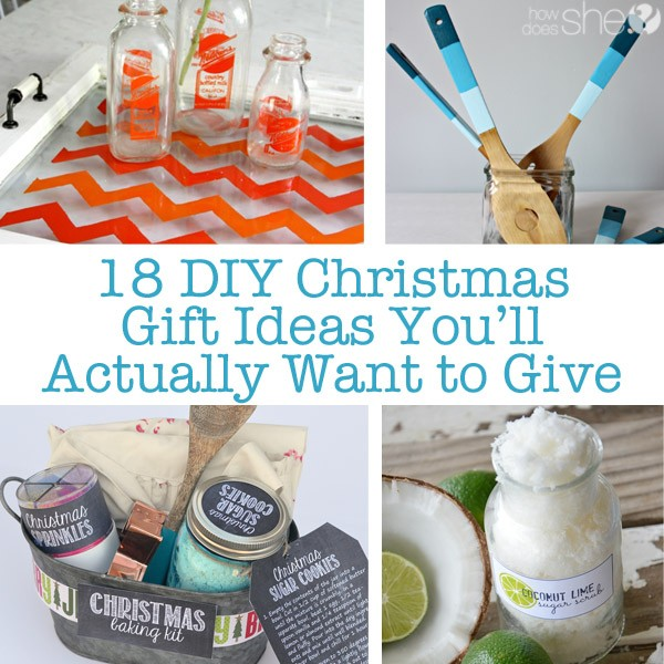 18 DIY Christmas Gift Ideas You'll Actually Want to Give
