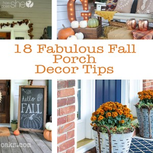 18 Fabulous Fall Porch Decor Tips
