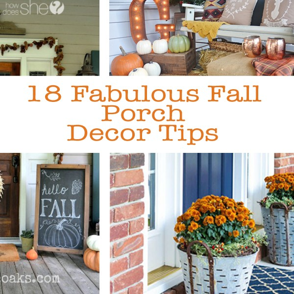 18 Fabulous Fall Porch Decor Tips