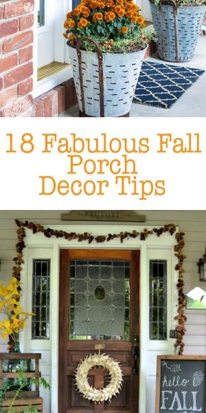 18 Fabulous Fall Porch Decor Tips P