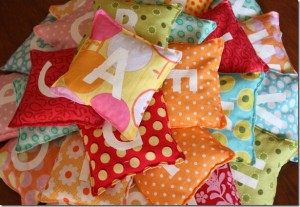 scrap fabric ideas for bean bags