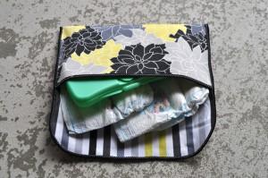 diaper clutch
