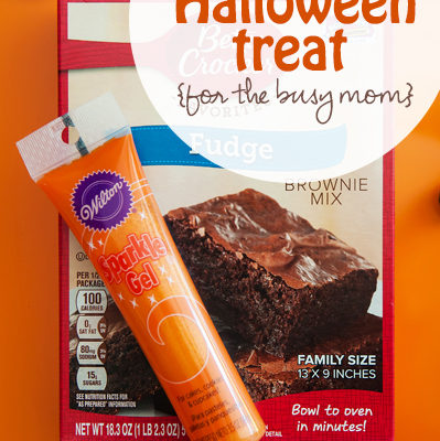 Easy Halloween Treat for the busy mom