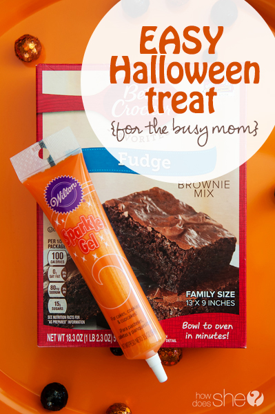 Easy Halloween Treat for busy moms