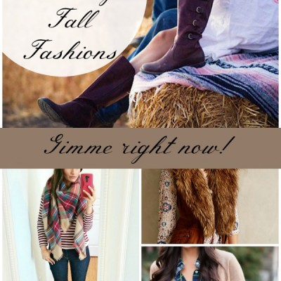 16 HOT Trending Fall Fashions