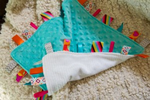 tag blanket for baby